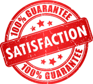 100% satisfaction guarantee badge - Brian's Heating and Cooling